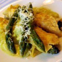 Enchiladas di asparagi