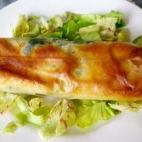 Pita bosniaca di verdure e formaggio