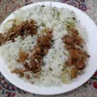 Adas polo (riso con lenticchie)