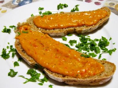 Peperoni in salsa di lievito