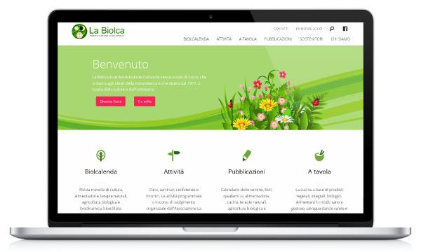 Nuovo sito web per l'Associazione La Biolca