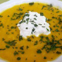 Carrot soup (zuppa di carote)