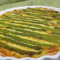 Quiche di asparagi (per 6/8 persone)