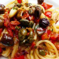 Ricette de La Biolca - Cucina Maltese. Spaghetti con salsa
