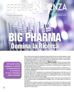 Big Pharma Domina la ricerca - Effervescienza n.111