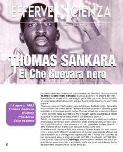 Thomas Sankara el Che Guevara nero - Effervescienza n.112