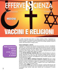 Vaccini e religioni - Effervescienza n.101