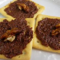 Crostini mediterranei - antipasti cucina per intolleranti e allergici