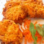 Frittelle di carote - Biolcalenda ottobre 2017