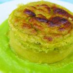 Tortini di asparagi alla crema di piselli - Biolcalenda maggio 2018