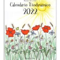 Copertina calendario semine e lavorazioni 2022 edizioni La Biolca