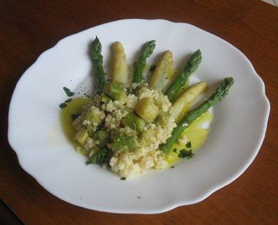 bulgur-asparagi
