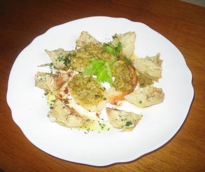 tartine-crema-carciofi