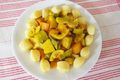 Colombo (mix di spezie) di verdure