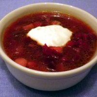 Borshch – zuppa di barbabietole rosse