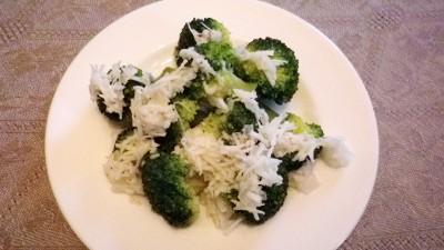 Broccoli al cocco (Malesia)
