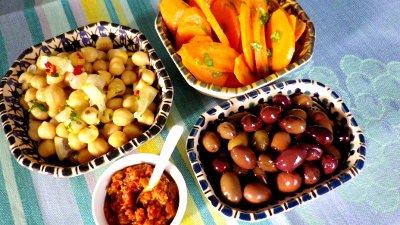 Harissa,* salsa piccante (Tunisia)