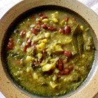 Jota balcanica (zuppa con fagioli)