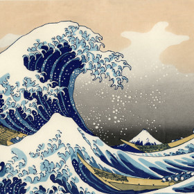 The Great Wave off Kanagawa-rid
