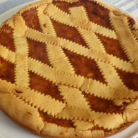 Pastiera napoletana (dosi per 8 porzioni)