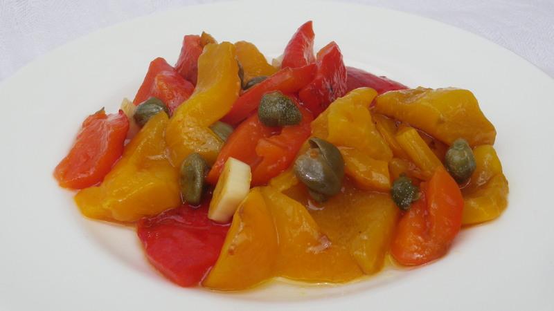 Peperoni brasati