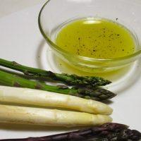 Pinzimonio di asparagi