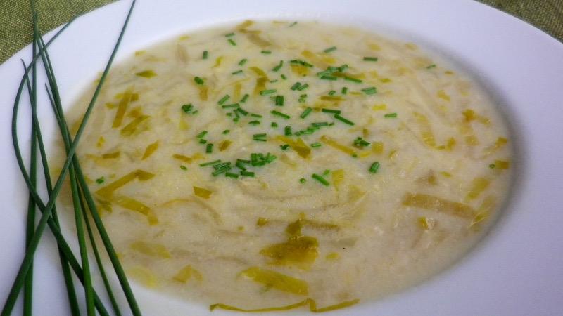 Bisque bruxelles (zuppa di indivia)