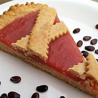 Crostata vegana all'anguria