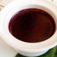 Budino di succo d'uva (sugoli)