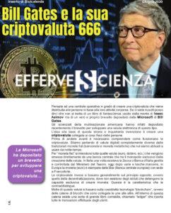 Bill Gates e la sua criptovaluta 666 - Effervescienza n.129