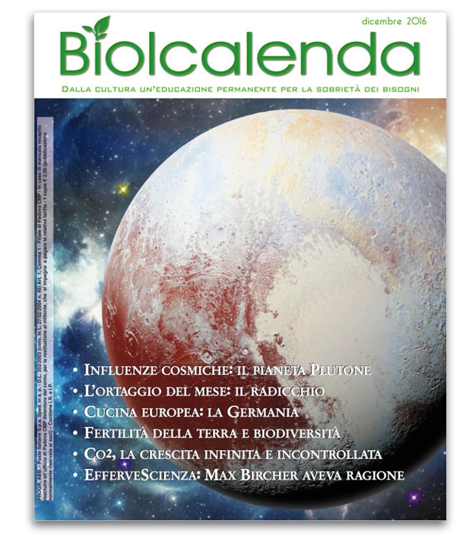 Biolcalenda di dicembre 2016 - Associazione La Biolca