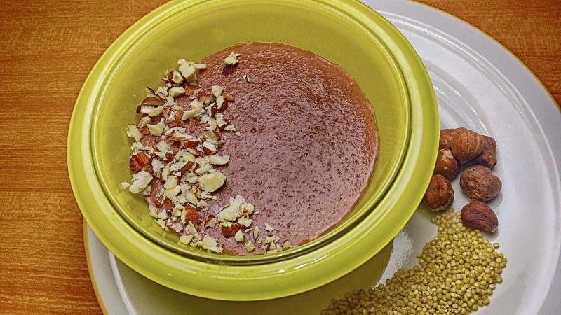Budino di miglio - ortaggio del mese aprile ricette - dolci-dessert