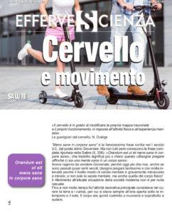 Cervello e movimento - Effervescienza n.123
