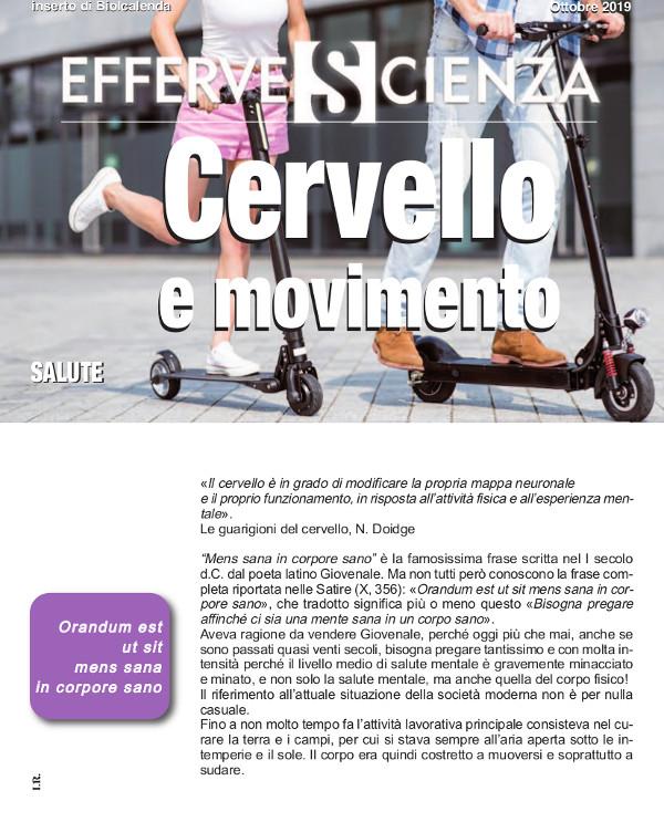Effervescienza n° 123 cervello e movimento