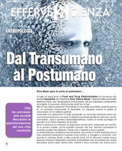 Dal Transumano al Postumano - Effervescienza n.132
