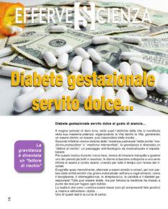 Diabete gestazionale servito dolce - Effervescienza n.115