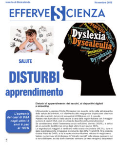 Disturbi dell'apprendimento - Effervescienza n.124