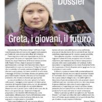 Speciale dossier: Greta, i giovani e il futuro - Biolcalenda di luglio/agosto 2019