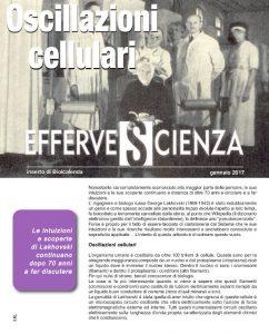 Effervescienza n° 94 - Oscillazioni cellulari