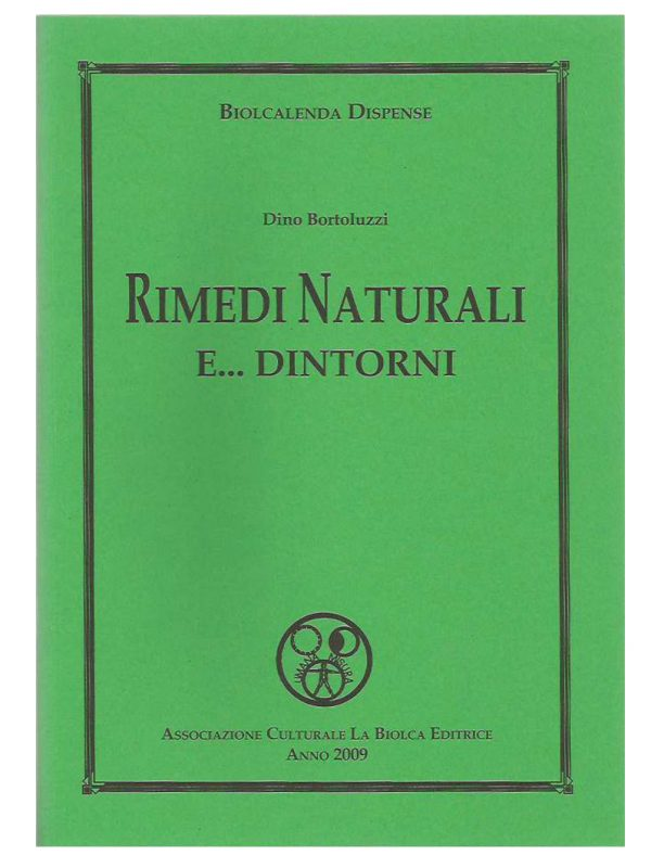 Rimedi naturali - Edizioni La Biolca