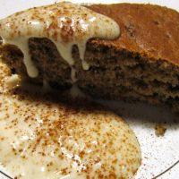 Ricette de La Biolca - Torta di farro con salsa di pere e panna di riso