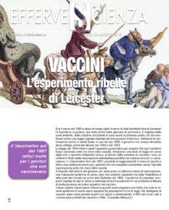 Vaccini l'esperimento ribelle di Leichester - Effervescienza n.110