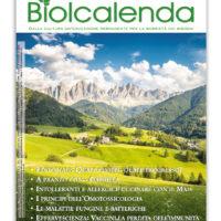 Biolcalenda di novembre 2017 - mensile dell'associazione La Biolca. In copertina le Dolomiti