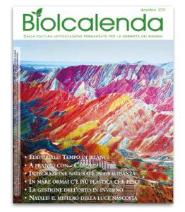 «Biolcalenda» di dicembre 2017 - La rivista dell'Associazione La Biolca
