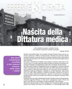 Nascita della dittatura medica - Effervescienza n.103