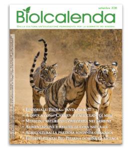 Biolcalenda di settembre 2018 - mensile dell'associazione La Biolca.