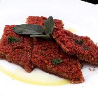 Rombi di quinoa alla rapa rossa - Biolcalenda di Gennaio2019