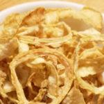 Cipolle pastellate (non fritte) - Biolcalenda Marzo 2019