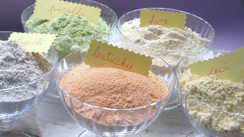 Ottime paste con le farine di legumi - Biolcalenda di Marzo 2019