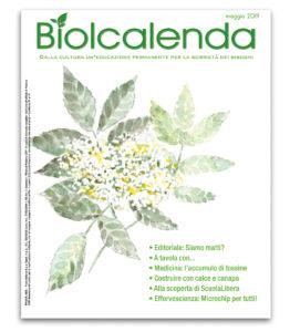 Biolcalenda di Maggio 2019 - mensile dell'associazione La Biolca.
